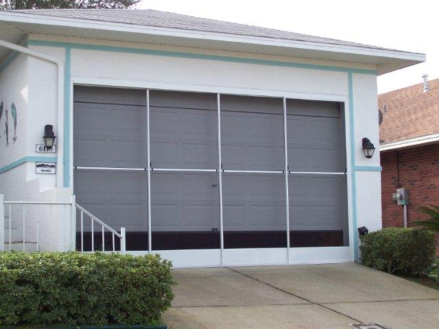 Central Florida Garage Screens Motorized Garage Screens